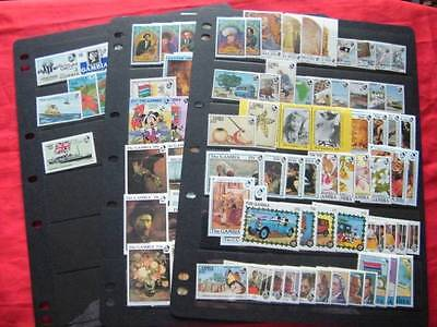 Gambia collection. Many MNH sets etc. Very fine.