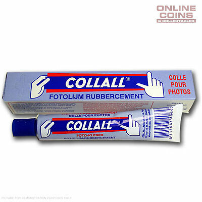 Collall Photo and Stamp Glue 50ml Tube (35g) - DITCH THE HINGES AND CORNERS!!