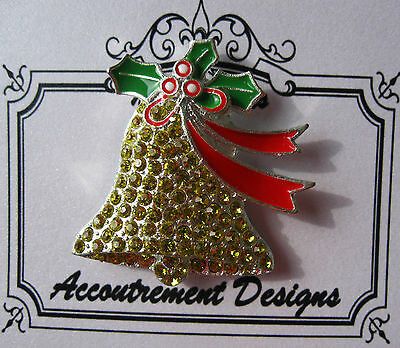 Accoutrement Designs Christmas Bell Needle Minder Magnet Fob Friends