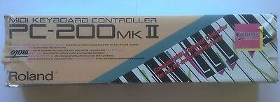 Roland PC-200 MK2 Midi Controller Keyboard Boxed