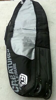 """Creatures Of Leisure Universal Quad Wheely Surfboard Bag - 6' 7"""""""