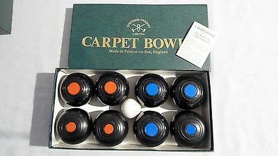 Townsend Set Of Mini Carpet Bowls Complete Set Very Good Boxed