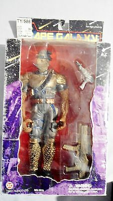 Ape Galaxy Commander Action Figure Boxed With Weapons Planet Of The Apes Clone?