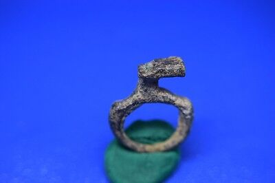 19 Roman bronze Key ring