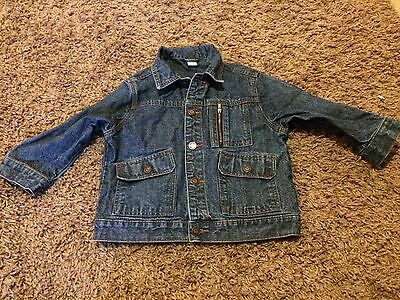 Girls Denim Jacket Aged 4 From Adams