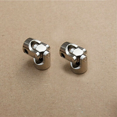 2 x 4mm * 3.175mm Shaft Coupling Motor connector Stainless Steel Universal Joint