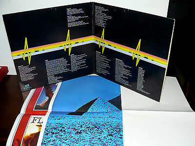 Pink Floyd The Dark Side Of The Moon Lp I^ Press Italy ( 11/9/1973 ) 2 Posters