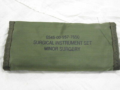 US Military Surgical Instrument Set (POUCH ONLY)