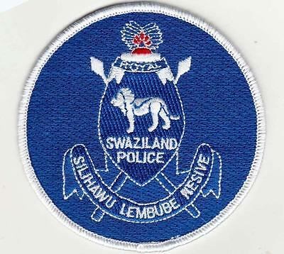 SWAZILAND (AFRICA) POLICE patch