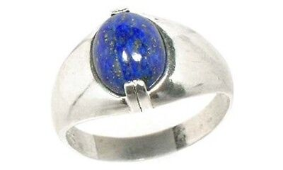 "19thC Antique 3½ct Lapis Lazuli Ancient Egypt ""Khesbed"" Gem of ""Joy and Delight"""