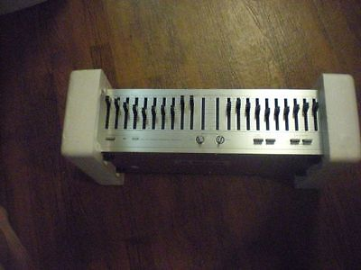 Vintage BSR Stereo Frequency Equalizer EQ - 110 X FREEINSURED SHIPPING