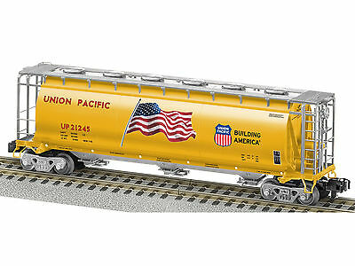 American Flyer Union Pacific Cylindrical Hopper #6-48646  SCALE MINT IN BOX