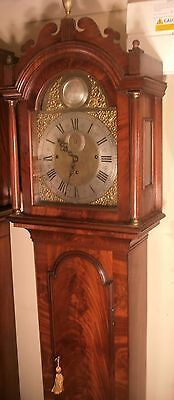 "Antique Mahogany Musical "" London "" 8 Bells Longcase / Grandfather Clock • £1,250.00"