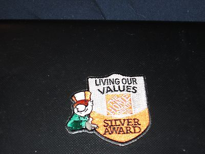 The Home Depot Silver Award 2.5 Inch  Patch