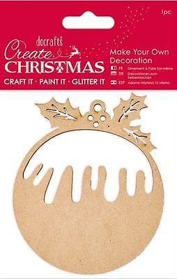 Docrafts CREATE CHRISTMAS ~ Make Your Own Decoration ~ Christmas Pudding