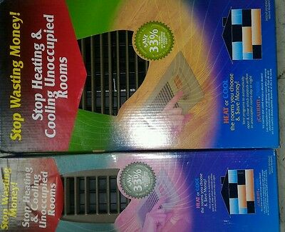 """new  Vent-Miser Programmable Energy Saving Vents  2"""" x 12""""  and  6 x 12 combo"""