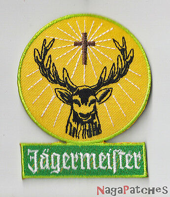 Badge patched embroidered fusible Jagermeister / patch 1840