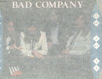 BAD COMPANY DICE  full size vintage 70s iron on t shirt transfer, NOS