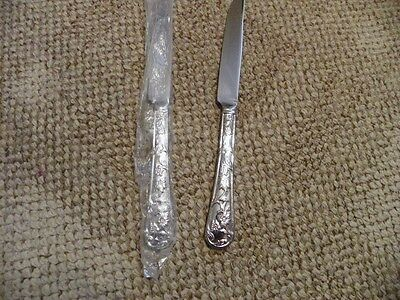 Set Of 2  Reed & Barton   Queens Garden   Butter Knives   Stainless  Flatware