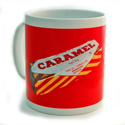 "COLLECTABLE CERAMIC MUG "" CARAMEL WAFER "" By Stephen O'Neil - NEW & BOXED"