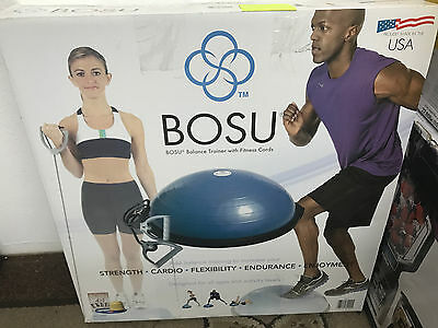 BOSU Balance Trainer Blue bonus 4 in 1 package