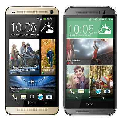 New Unlocked Verizon HTC One M8 32GB 4G LTE Smartphone - Gunmetal Gray - Gold