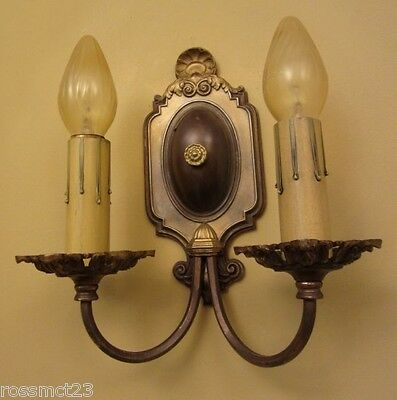 Vintage Sconces eleven matching 1920s wall lights by Empire