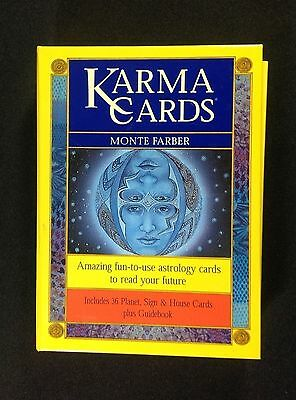 Karma Cards Monte Farber Softcover Guidebook Set Astrology