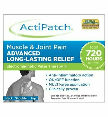 ActiPatch Muscle & Joint Pain Relief Device Electromagnetic Pulse Therapy