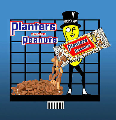 Planters Peanuts Animated Billboard Sign for N HO Scale Miller 7062