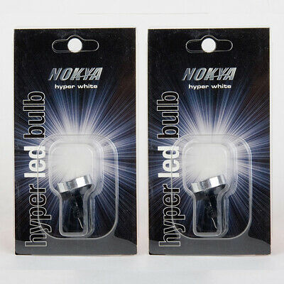 2pc Nokya High Performance LED 3156 6000K WHT 3W 190Lm Made in Taiwan NOK7151