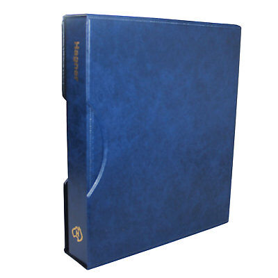 Hagner Binder and Slipcase Cobalt (BLUE) For Hagner Banknote Stamp Stock Pages