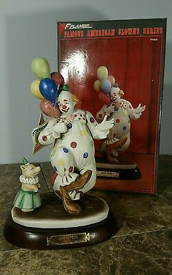 Rare Vintage Felix Adler Statue With Piglet Limited Edition 0523 Of 7500 Flambro