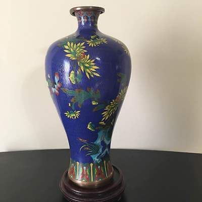 Chinese Cloisonne Bottle