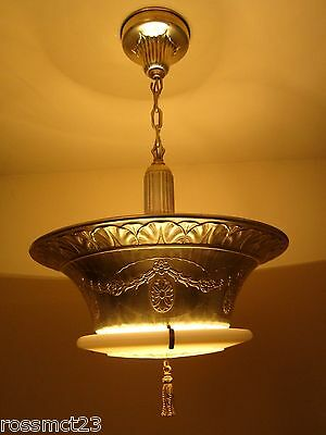 Vintage Lighting extraordinary brass Duplexalite