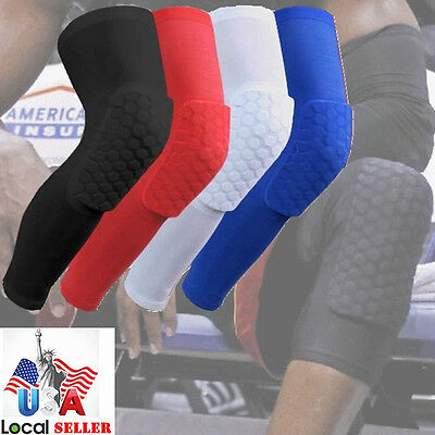 Sports Leg Knee Patella Support Brace Wrap Protector Pad Sleeve Basketball -DD2