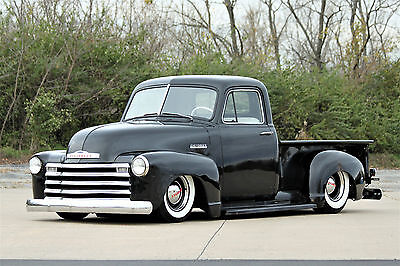 1952 Chevrolet Other Pickups  1952 Chevy 3100 450hp Corvette ls2 Air Ride Resto Mod Accuair Mustang ii Patina
