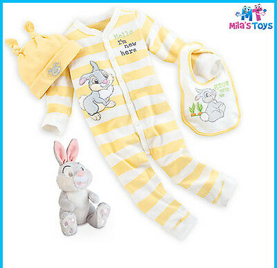 Disney Thumper Yellow Layette Gift Set for Baby sizes 3-12 months brand new