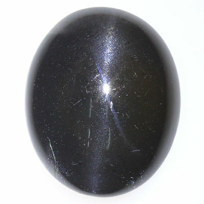 13.970 Cts UNIQUE COLLECTION VERY RARE GREEN SPECTROLITE CAT'S EYE INDIA MINE!!!