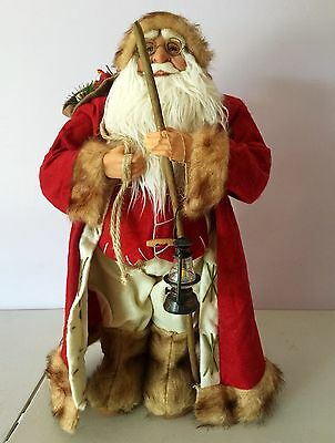 46cm Red Santa Claus Doll Christmas Home Decorations