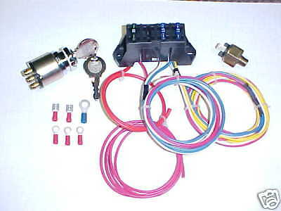 Wiring Harness for Bobber, Chopper, Harley, Triumph, American Made