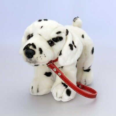 Standing Dalmatian on a lead, 30cm, Keel Toys Plush Toy Dog