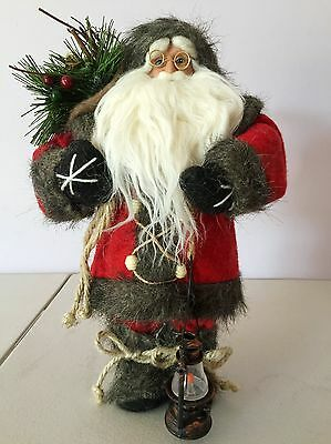 30cm Red Santa Claus Doll Christmas Home Decorations