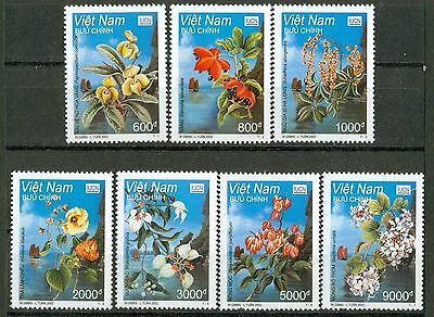 VIETNAM 2002 BLOSSOMS MNH Withdrawn Issue And Rare