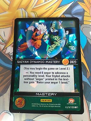 SAIYAN DYNAMIC MASTERY DR20 Panini Dragon Ball Z Awakening