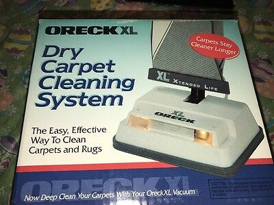 Oreck XL Dry Carpet Cleaning System Dirt Grease Odors NIB