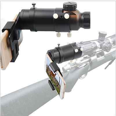 Smart Shooting Scope Mount Adapter Record the Discovery via Your Smartphone