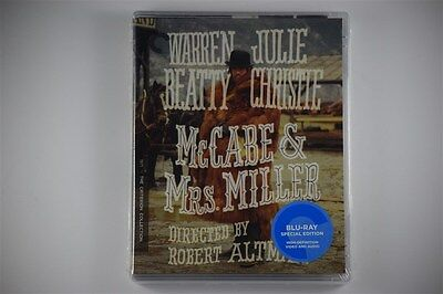 McCabe & Mrs. Miller-  Blu-ray Disc Criterion Oct-2016 R. Altman, W. Beatty NEW