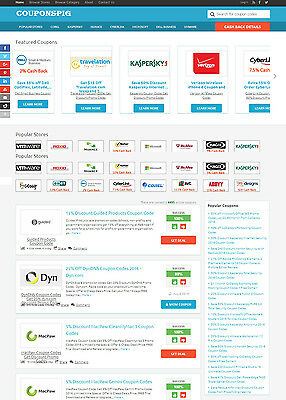 Coupons Sharing Website - Fully Automated