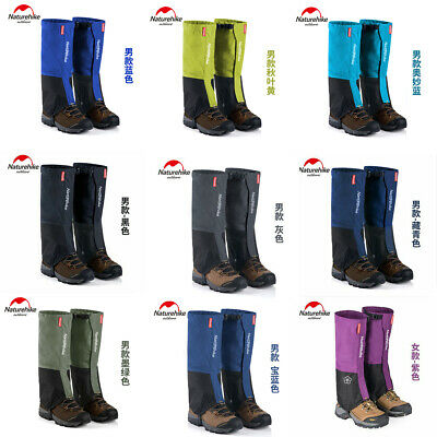 Waterproof Hiking Climbing Walking Boot Leggings Trekking Gators Snow Gaiters